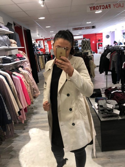 TRENCH  LUCY BEIGE